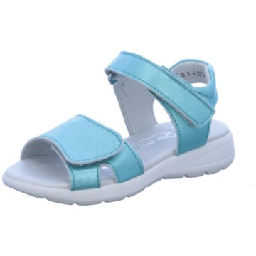 Däumling Sandale blau