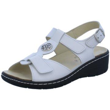 Portina Komfort Sandale weiß