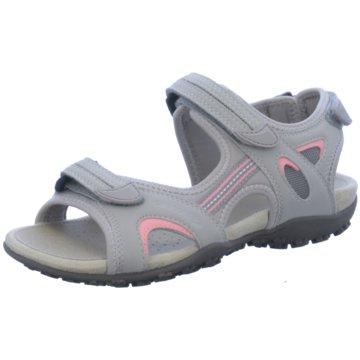 Geox Outdoor SchuhD SAND.STREL B - SYN.NBK LYCRA grau