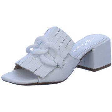 Alpe Woman Shoes Klassische Pantolette weiß
