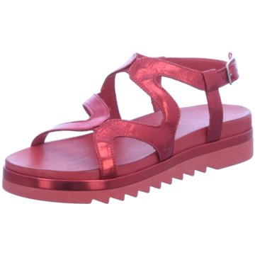 Inuovo Plateau Sandalette rot