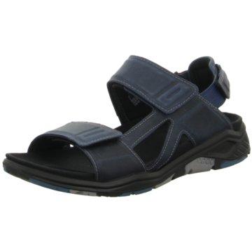 Ecco Komfort Schuh blau