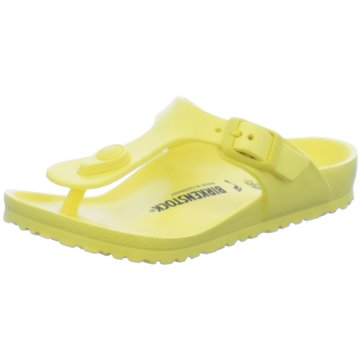 Birkenstock Offene Schuhe gelb