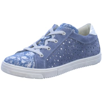 Lepi Sneaker Low blau
