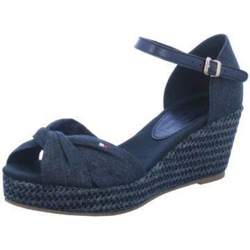 Tommy Hilfiger Sandalette blau