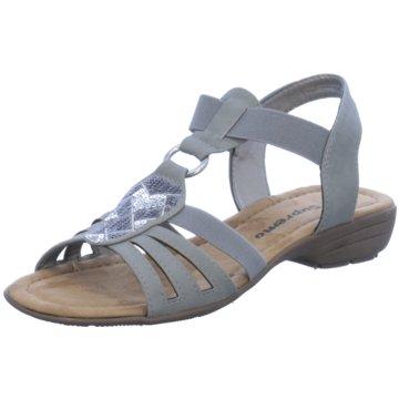 Supremo Sandale grau
