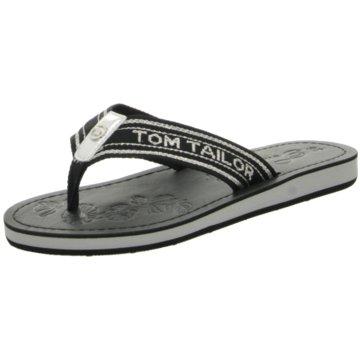 Tom Tailor Bade- Zehentrenner schwarz