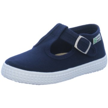 Natural World Eco Slipper blau