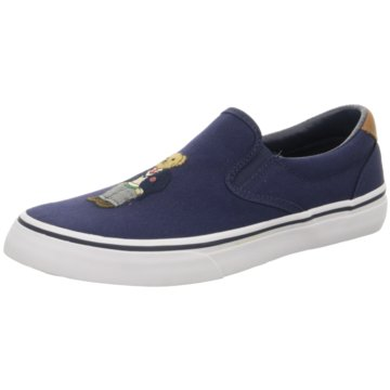 Ralph Lauren Slipper blau