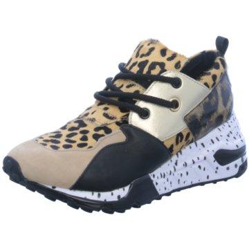 Steve Madden Plateau Sneaker beige