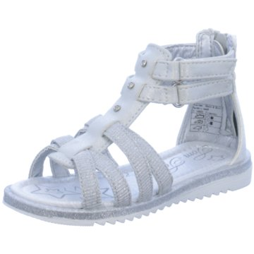 Supremo Offene Schuhe silber