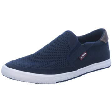 Tom Tailor Sportlicher Slipper blau