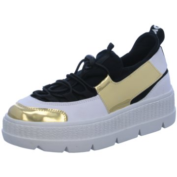 Tizian Plateau Sneaker schwarz