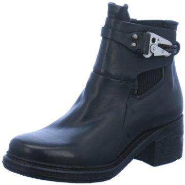 A.S.98 Klassische Stiefelette schwarz