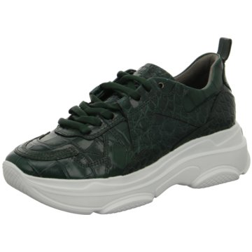 Kennel + Schmenger Plateau Sneaker grün
