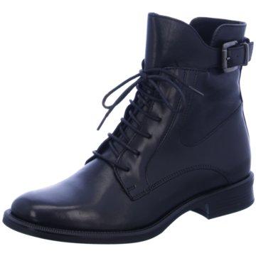 Fantasy Shoes Schnürstiefelette schwarz