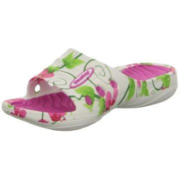 Fashy Offene Schuhe weiß