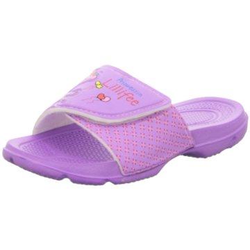 Pölking Offene Schuhe lila