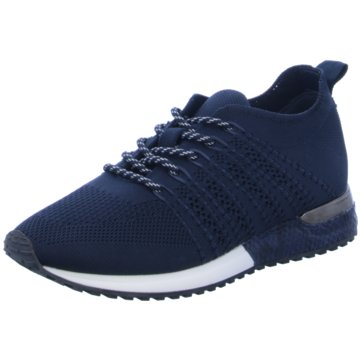La Strada Sportlicher Schnürschuh blau
