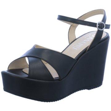 Donna Piu Sandalette schwarz