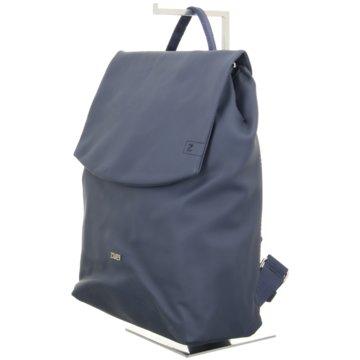 Zwei Rucksack blau