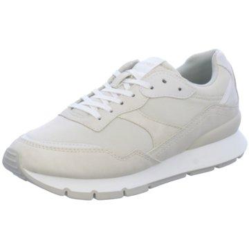 Esprit Sportlicher Schnürschuh weiß
