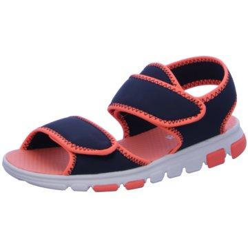 Reebok Offene Schuhe blau