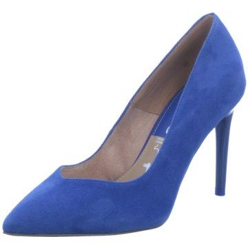 Tamaris Pumps blau