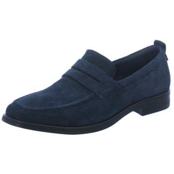Ecco Business Slipper blau