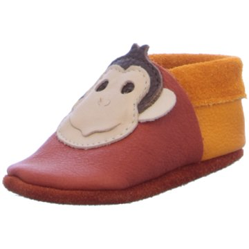 POLOLO Krabbelschuh orange