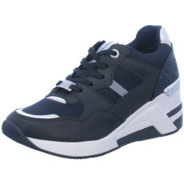 Supremo Sneaker Wedges blau