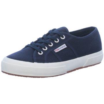 Superga Sneaker Low2750 Cotu blau