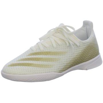 adidas Hallen-SohleX GHOSTED.3 IN J weiß