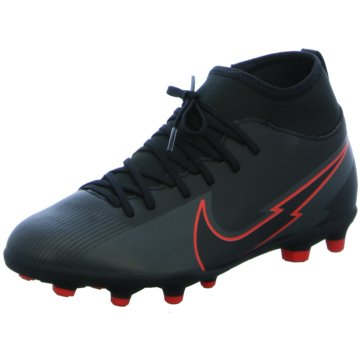 Nike Nocken-SohleNike Jr. Mercurial Superfly 7 Club MG Little/Big Kids' Multi-Ground Soccer Cleat - AT8150-060 schwarz