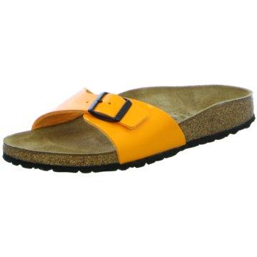 Birkenstock Klassische PantolettePantolette gelb