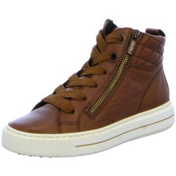 ara Sneaker HighCourtyard-Highsoft braun