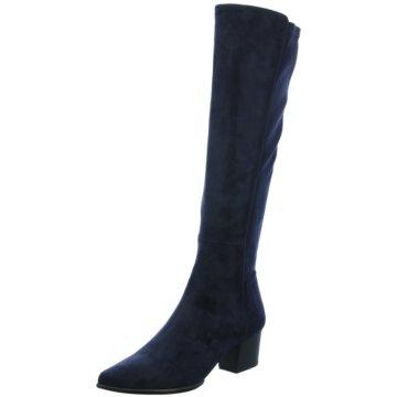 Unisa Klassischer Stiefel blau