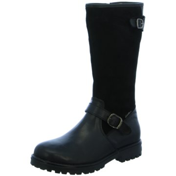 Lepi Klassischer Stiefel schwarz