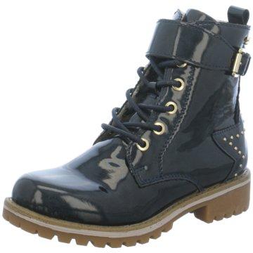 Indigo Boots blau