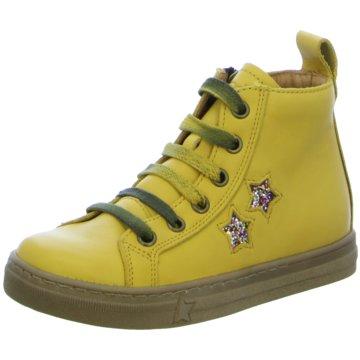Froddo Schnürschuh gelb