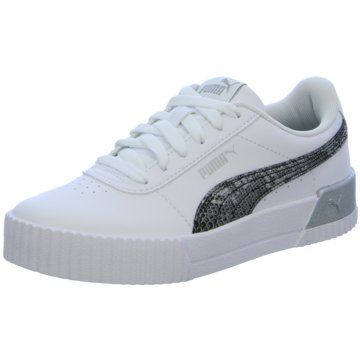 Puma Sneaker LowCARINA UNTAMED - 375959 weiß