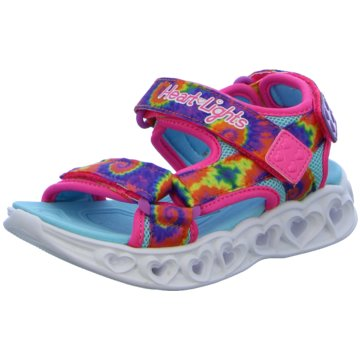 Skechers Offene Schuhe pink