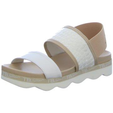 Tosca Blu Sandalette weiß