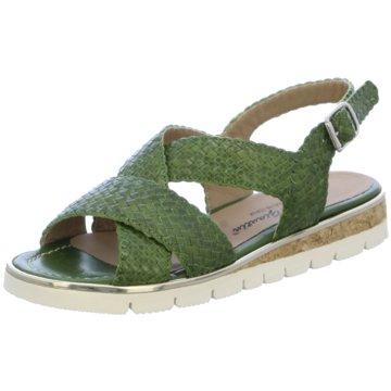 Alfredo Giantin Sandale grün