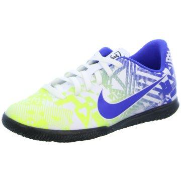 Nike Hallen-SohleJR VAPOR 13 CLUB NJR IC - CV9352-104 blau