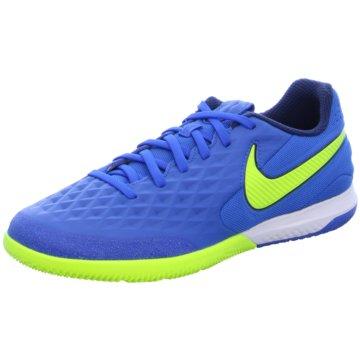 Nike Hallen-SohleNike React Tiempo Legend 8 Pro IC Indoor/Court Soccer Shoe - AT6134-474 blau
