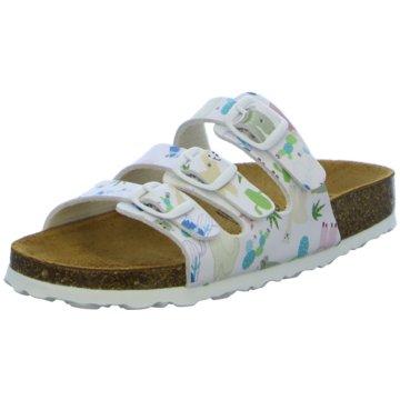 BIO POINT Offene Schuhe weiß