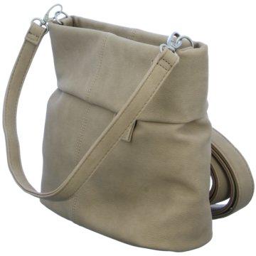 Zwei Taschen Damen beige