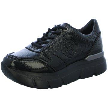 Bugatti Plateau Sneaker schwarz