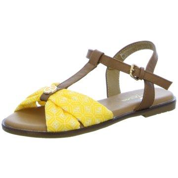 Tom Tailor Sandale gelb